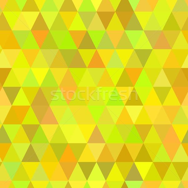Stock fotó: Absztrakt · mértani · háromszög · végtelen · minta · szín · mozaik