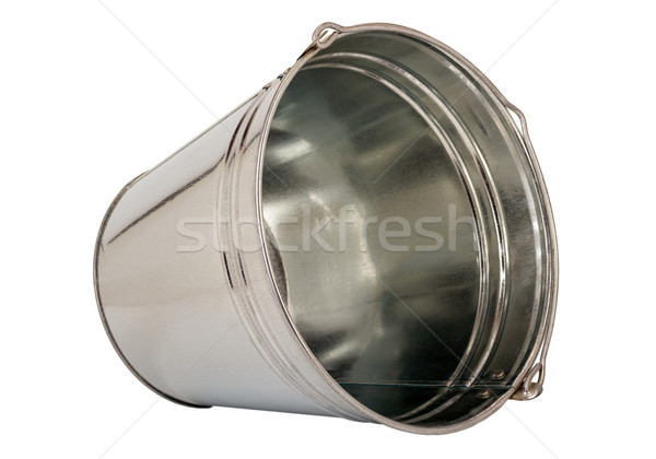 Metallic pail Stock photo © nemalo