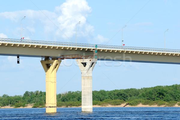 Сток-фото: моста · реке · Россия · строительство · новых · воды