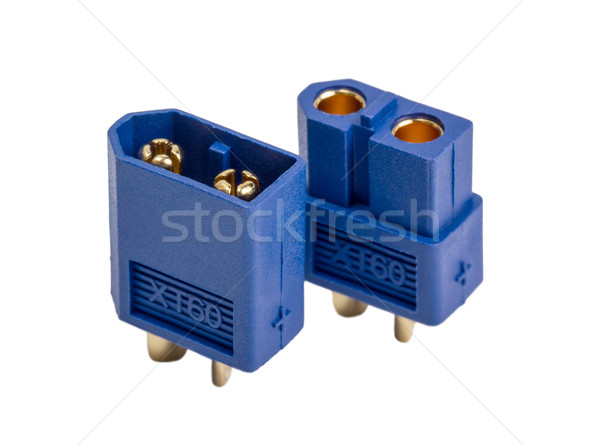 Electronic collection - Low voltage high-power connector industr Stock photo © nemalo