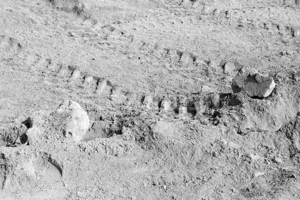 Sfondi raccolta strato cemento terra industriali Foto d'archivio © nemalo