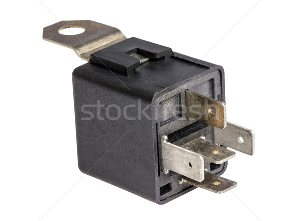 Electronic collection - Car electromagnetic relay switch Stock photo © nemalo