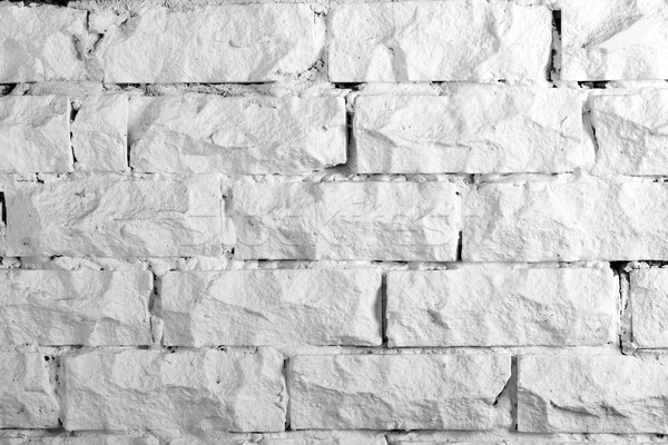 Achtergronden collectie witte muur geschilderd Stockfoto © nemalo
