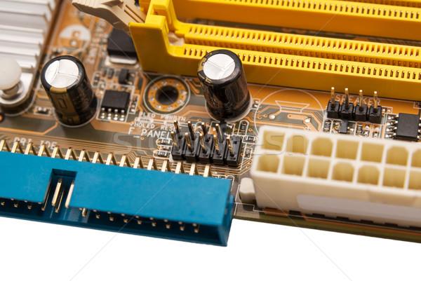 Elektronische collectie digitale onderdelen computer elektronica Stockfoto © nemalo