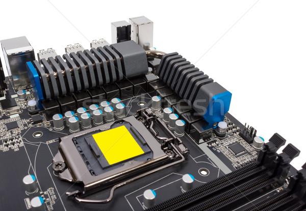 Elektronikus gyűjtemény erő modern processzor processzor Stock fotó © nemalo