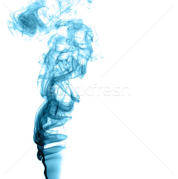 Soyut renkli duman ışık yangın arka plan Stok fotoğraf © nemalo