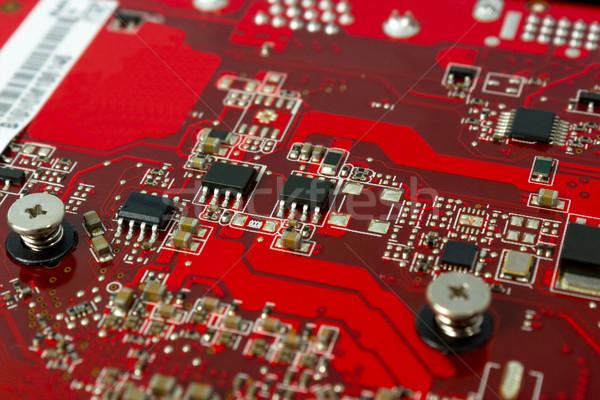 électronique ensemble composants circuit ordinateur résumé Photo stock © nemalo