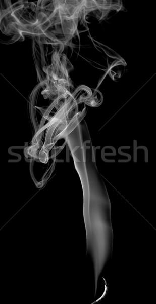 Absztrakt füst fény sötét tűz terv Stock fotó © nemalo