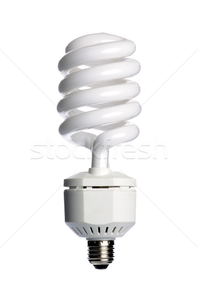 Energy saving fluorescent light bulb Stock photo © nemalo