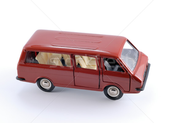 Collection scale model of the car Minibus Stock photo © nemalo