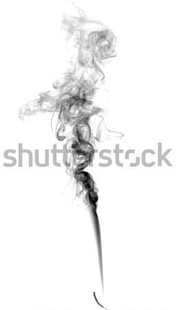 Soyut karanlık duman ışık yangın sanat Stok fotoğraf © nemalo