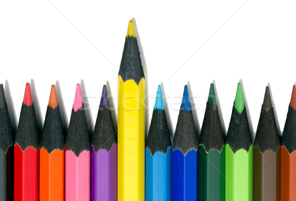 Color pencils Stock photo © nemalo