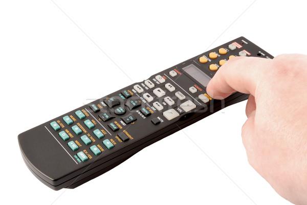 リモコン パネル 白 テレビ キーボード ビデオ ストックフォト © nemalo
