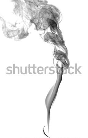 Soyut karanlık duman ışık yangın dizayn Stok fotoğraf © nemalo