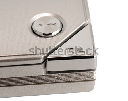 Electronic collection - Eject button Stock photo © nemalo