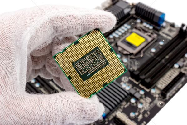 Electronic collection - Computer processor Stock photo © nemalo