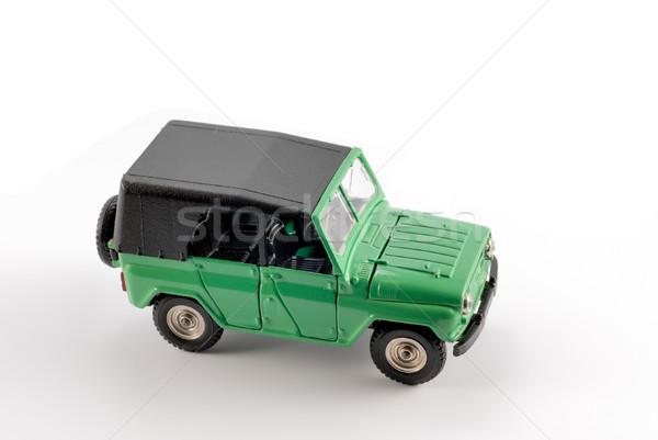 Ensemble échelle modèle voiture métal base Photo stock © nemalo