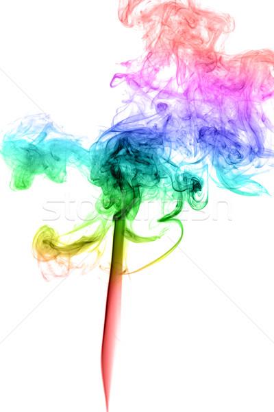 Abstract multicolored smoke Stock photo © nemalo