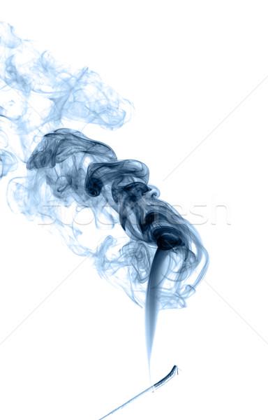 Résumé fumée lumière feu fond Photo stock © nemalo