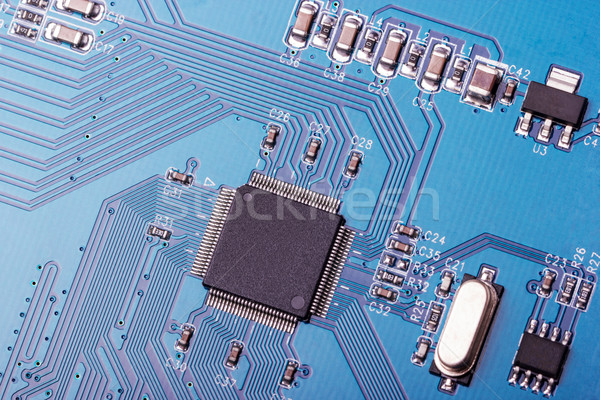 électronique ensemble ordinateur circuit design Photo stock © nemalo