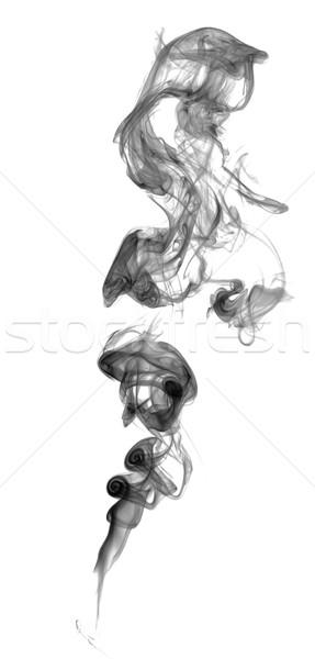 Abstract dark smoke Stock photo © nemalo