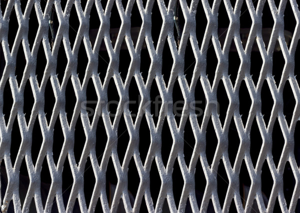 Backgrounds collection - Texture steel grating Stock photo © nemalo