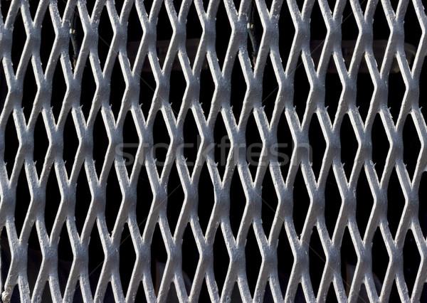 Hintergrund Sammlung Textur Stahl Gitter grau Stock foto © nemalo
