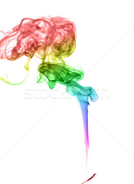 аннотация дым свет искусства волна Сток-фото © nemalo