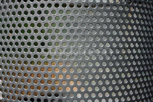 Metal net daire doku ağlar duvar Stok fotoğraf © nemar974