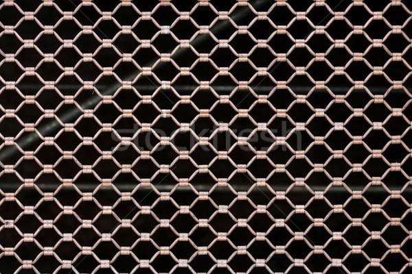 Madeni güvenlik net siyah dizayn model Stok fotoğraf © nemar974