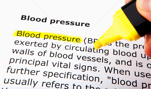 Blood pressure Stock photo © nenovbrothers