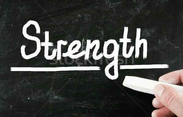 strength concept Stock photo © nenovbrothers
