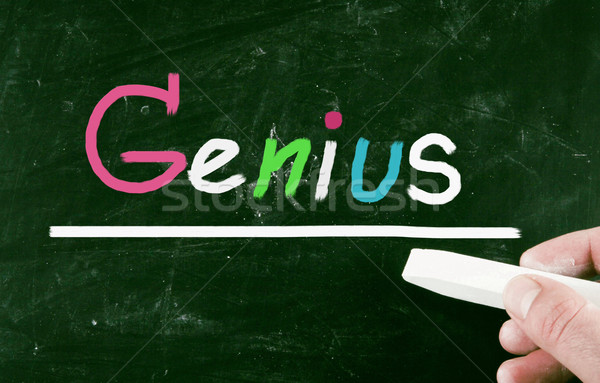 genius concept Stock photo © nenovbrothers
