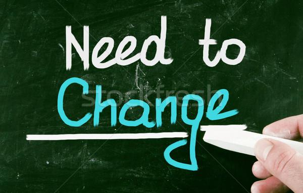 need to change Stock photo © nenovbrothers