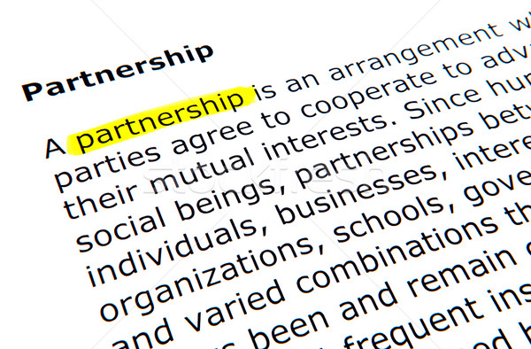 Partnership Stock photo © nenovbrothers