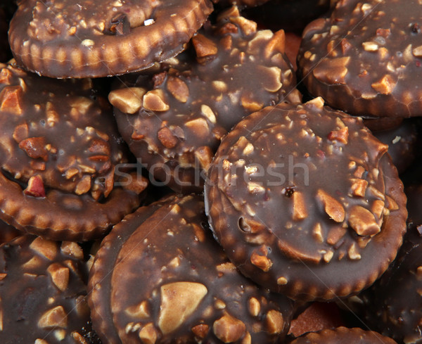 chocolate biscuits Stock photo © nenovbrothers