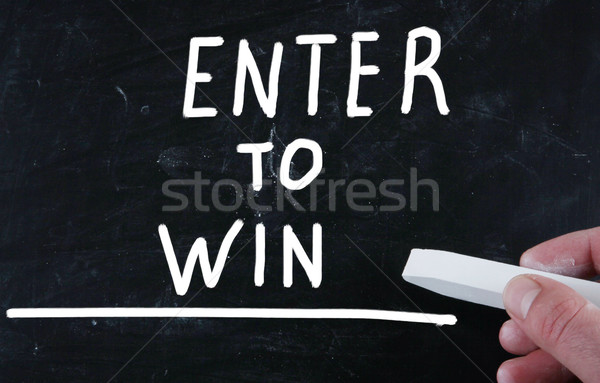 enter to win Stock photo © nenovbrothers