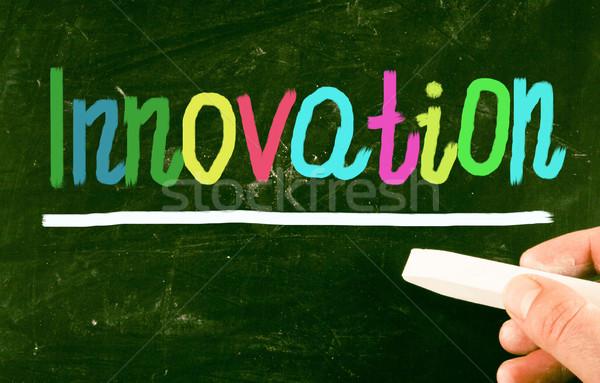 инновация технологий власти доске думать видение Сток-фото © nenovbrothers