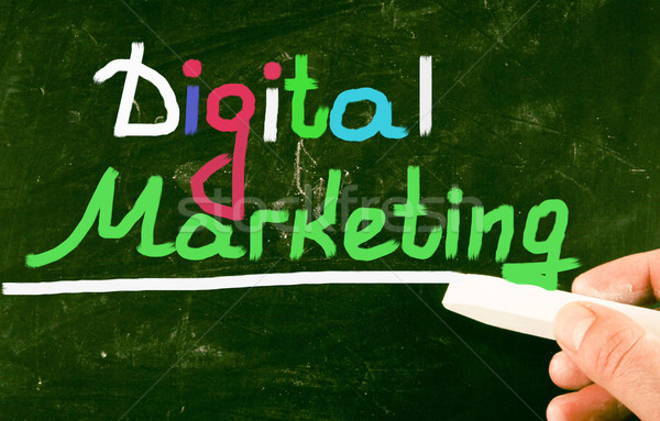 Digitale marketing business ontwerp teken succes Stockfoto © nenovbrothers