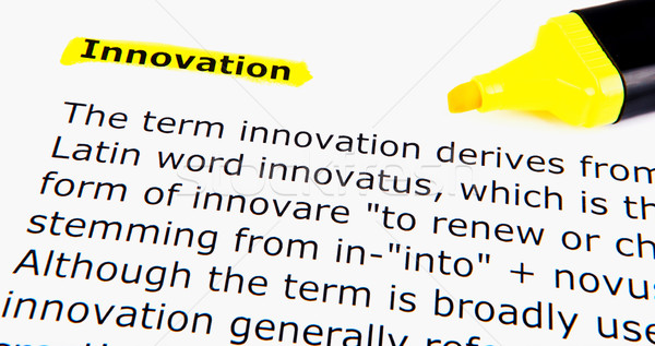 Text highlighted in yellow Stock photo © nenovbrothers