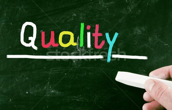 Qualité affaires conférence communication marché graphique Photo stock © nenovbrothers