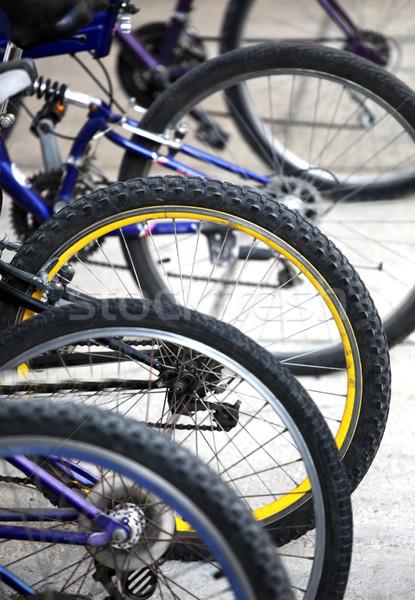 Bicycles parking Stock photo © nenovbrothers
