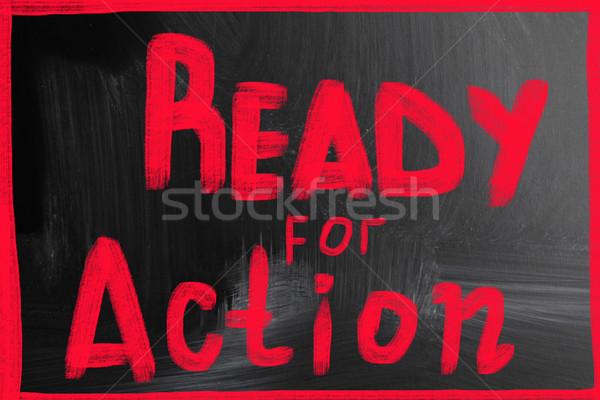 ready for action Stock photo © nenovbrothers