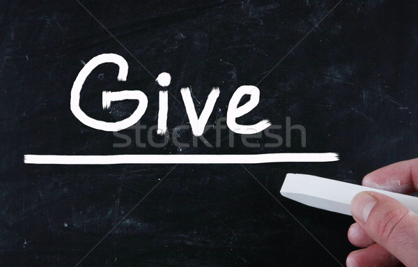 give concept Stock photo © nenovbrothers