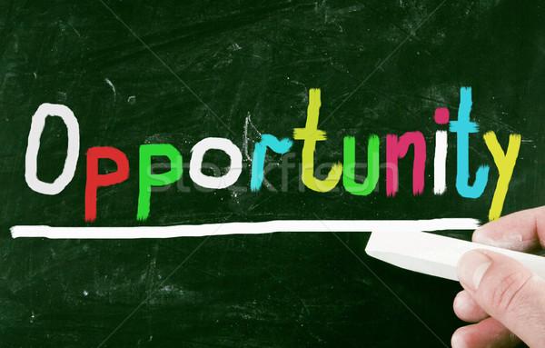 opportunity concept Stock photo © nenovbrothers