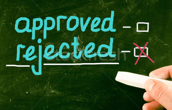 approved concept Stock photo © nenovbrothers