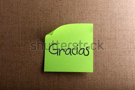 Roi フレーム 緑 通信 情報 黒板 ストックフォト © nenovbrothers