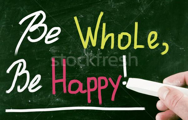 Geheel gelukkig gezondheid vrijheid wellness meditatie Stockfoto © nenovbrothers