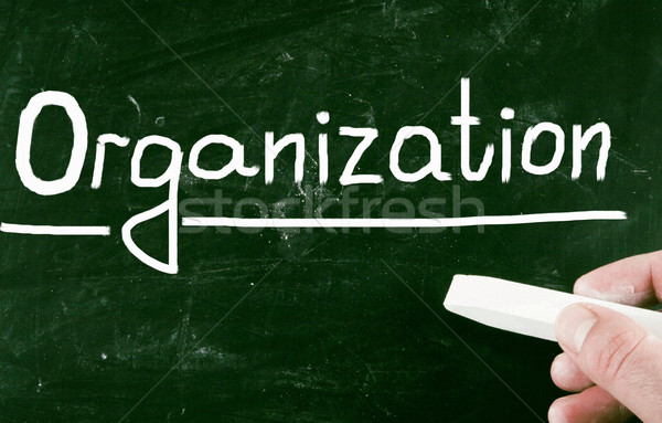Organizacja piśmie sukces prezentacji zarządzania cel Zdjęcia stock © nenovbrothers