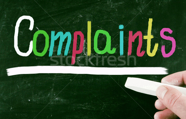 complaint concept Stock photo © nenovbrothers